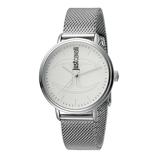 Just Cavalli Women's Watch Only Time Cool Fresh Clean Collection White