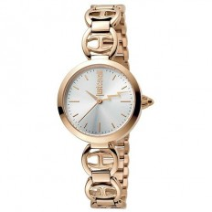 Just Cavalli Women's Watch Only Time Logo Collection Rosé