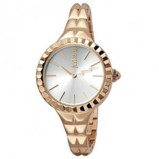 Just Cavalli Women's Watch Only Time Rock Collection Rosé