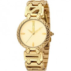 Just Cavalli Women's Watch Only Time Rock Collection Gold/Gold