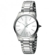 Just Cavalli Women's Watch Only Time Relaxed Collection Silver/Silver