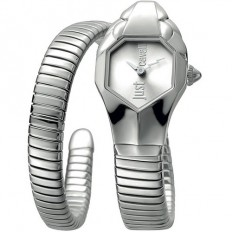Just Cavalli Women s Watch Only Time Glam Chic Collection Silver Silver d1f4e768f9