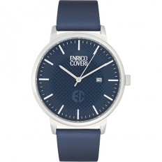 Enrico Coveri Watch Men's Only Time Blue