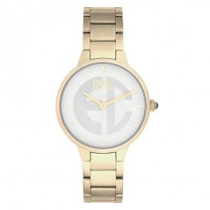 Enrico Coveri Watch Women's Only Time White/Gold