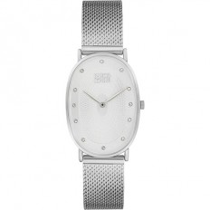 Enrico Coveri Watch Women's Only Time White/Silver