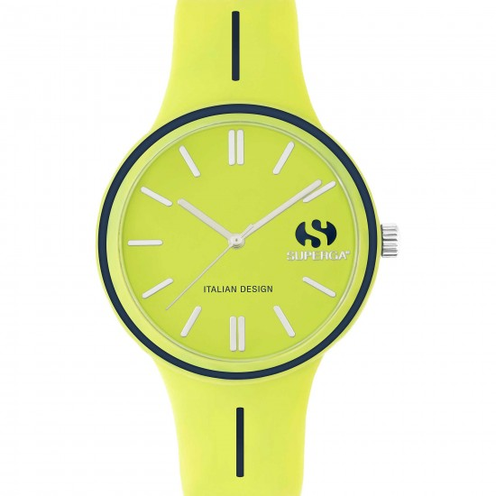 Superga Watch Woman Only Time Acid Green