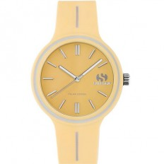Superga Watch Woman Only Time Yellow