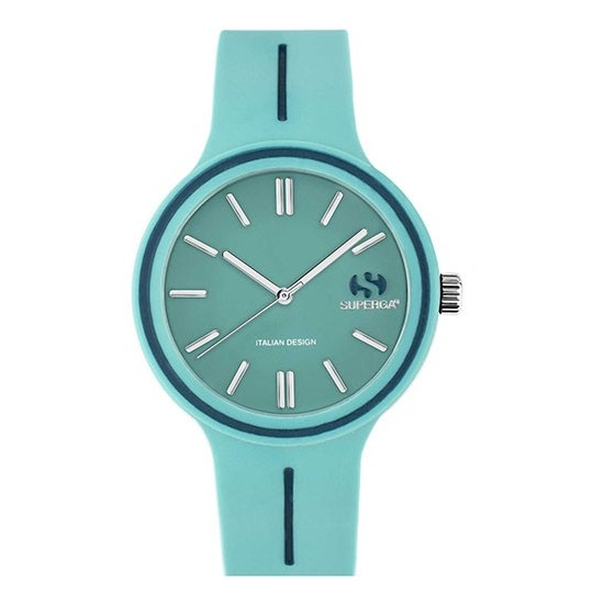 Superga Watch Woman Only Time Green