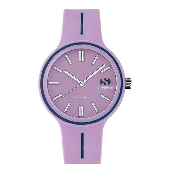 Superga Watch Woman Only Time Purple