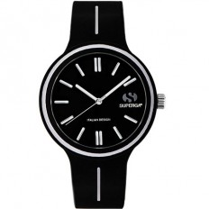 Superga Watch Man Only Time Black
