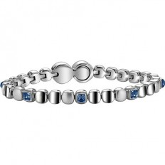 Breil Women Bracelet Rolling Diamond Collection Sapphire
