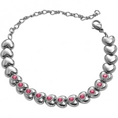 Breil Women Bracelet Love Around Collection Pink