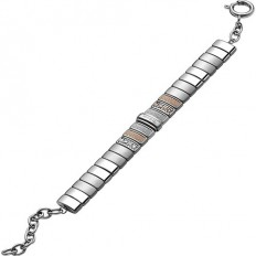 Breil Women Bracelet Breilogy Collection Rose Gold