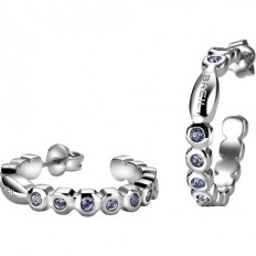 Breil Women's Earrings Rolling Diamonds Collection