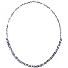 Breil Women Necklace Rolling Diamond Collection Violet