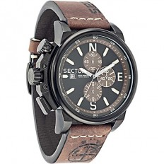 Sector Watch Man Chronograph 450 Collection Brown