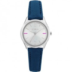 Furla Watch Woman Only Time Eva Collection Blue Silver