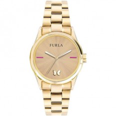 Furla Watch Woman Only Time Eva Collection Gold