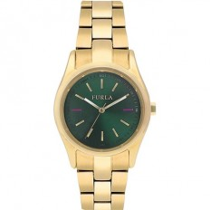 Furla Watch Woman Only Time Eva Collection Green