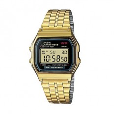 Casio Digital Watch Unisex Vintage Black