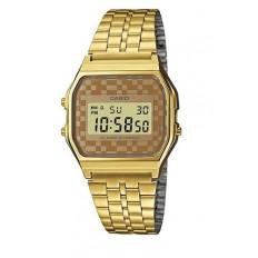 Casio Digital Watch Unisex Vintage Brown