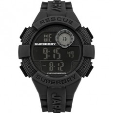 Superdry Watch Men Digital Radar Rescue Collection Black