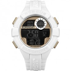 Superdry Watch Men Digital Radar Rescue Collection White