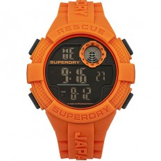 Superdry Watch Men Digital Radar Rescue Collection Orange