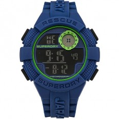 Superdry Watch Men Digital Radar Rescue Collection Blue