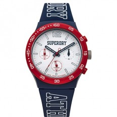 Superdry Watch Unisex Multifunction Urban Multi Collection Blue