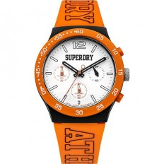 Superdry Watch Unisex Multifunction Urban Multi Collection Orange