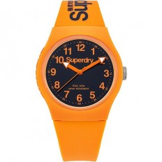 Superdry Watch Unisex Only Time Urban Collection Orange