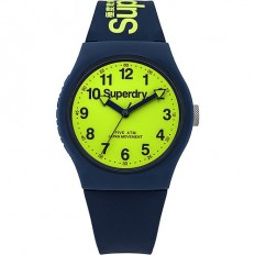 Superdry Watch Unisex Only Time Urban Collection Blue/Green
