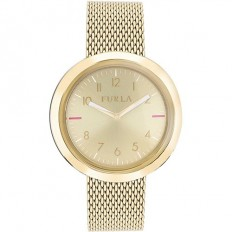 Furla Watch Woman Only Time Valentina Collection Champagne