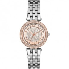 Michael Kors Women's Watch Only Time Mini Darci Collection Crystals