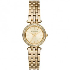 Michael Kors Women's Only Time Petite Darci Collection Gold