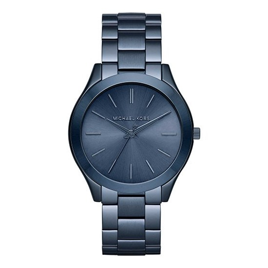 buy popular b2d92 80386 Michael Kors Unisex Watch Only Time Slim Runway Collection