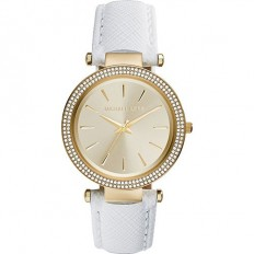 Michael Kors Women's Watch Only Time Darci Collection White
