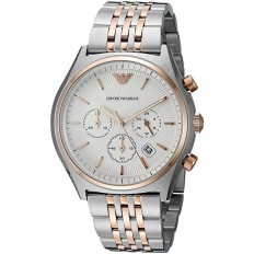 Armani Men's Watch Chronograph Sigma