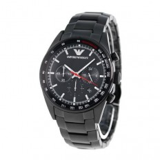 Armani Men's Watch Chronograph Black