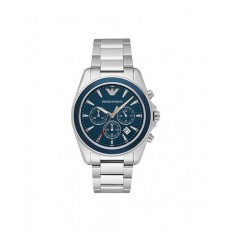 Armani Men's Watch Chronograph Blue