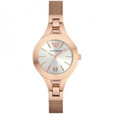 Armani Women's Watch Only Time Chiara Collection Rosegold