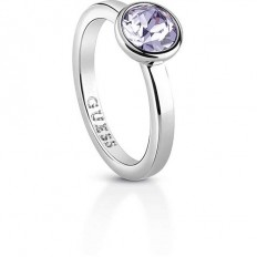 Guess Womens' Ring Miami Collection Violet