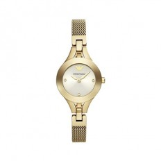 Armani Women's Watch Only Time Gold