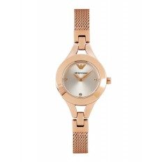 Armani Women's Watch Only Time Rosegold