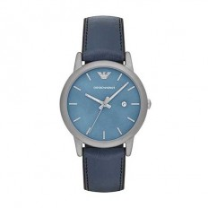 Armani Men's Watch Only Time Blue