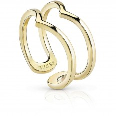Guess Womens' Ring Hoops I Did It Again Collection