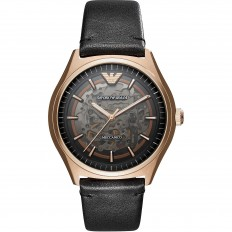 Armani Watch Man Meccanico Emporio Armani Black
