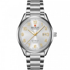 Swiss Military Hanowa Men's Watch Automatic Helvetus Collection White