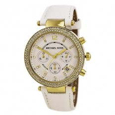 Michael Kors Watch Woman Chronograph White
